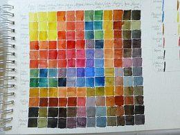 Die Farbmischtabelle