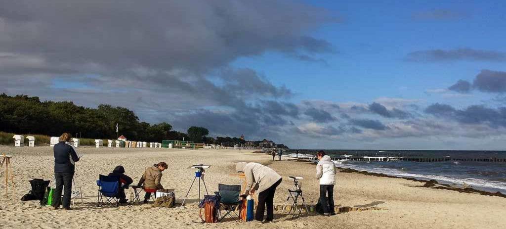 Plein air festival an der Ostsee Kurzfassung c Frank Koebsch 2016 05 18 1 1
