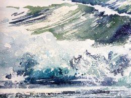 """Veranstaltung mit Sonja Jannichsen – """"Malen am Meer"""""""