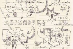 Veranstaltung mit Susanne Haun – Sind Zeichnungen auch Kunst?