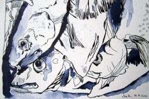 Workshop mit Susanne Haun – In der Natur mit Tusche, Feder und Pinsel zeichnen