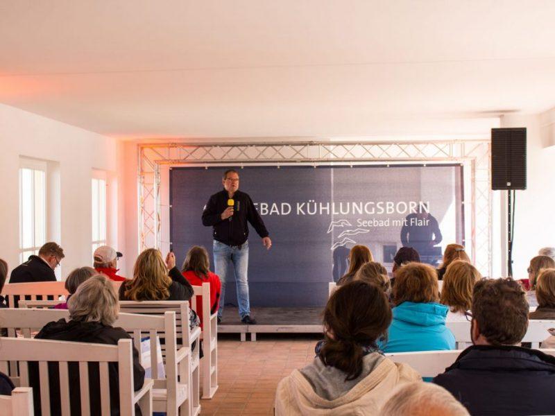 Frank Koebsch bei der Eröffnung des Plein Air Festivals in Kühlungsborn (c) Sonja Jannichsen (1)