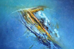 y Aquasphere 1-2018, AcrylBaumwollsegeltuch, 70 cm x 100 cm (1)