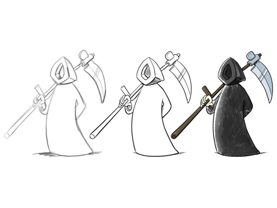 Von der Skizze zum fertigen Cartoon_kl