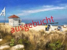 Susanne Mull Kühlungsborn im Mai 22 x 30 cm Pastell 2017_ausgebucht
