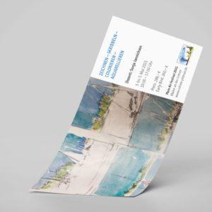 """Workshop """"Zeichnen – Skribbeln – Colorieren – Aquarellieren"""""""