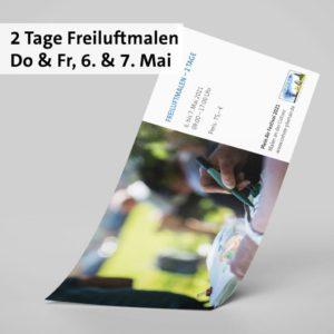 2 Tage Freiluftmalen: Do. 6. & Fr. 7. Mai 2021